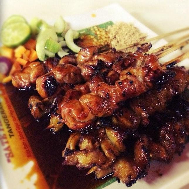Sate Babi (Pork Satay)