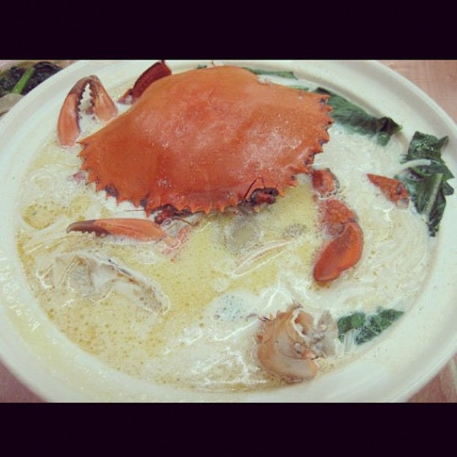 Crab Bee Hoon - Uncle Leong Seafood, Singapore
