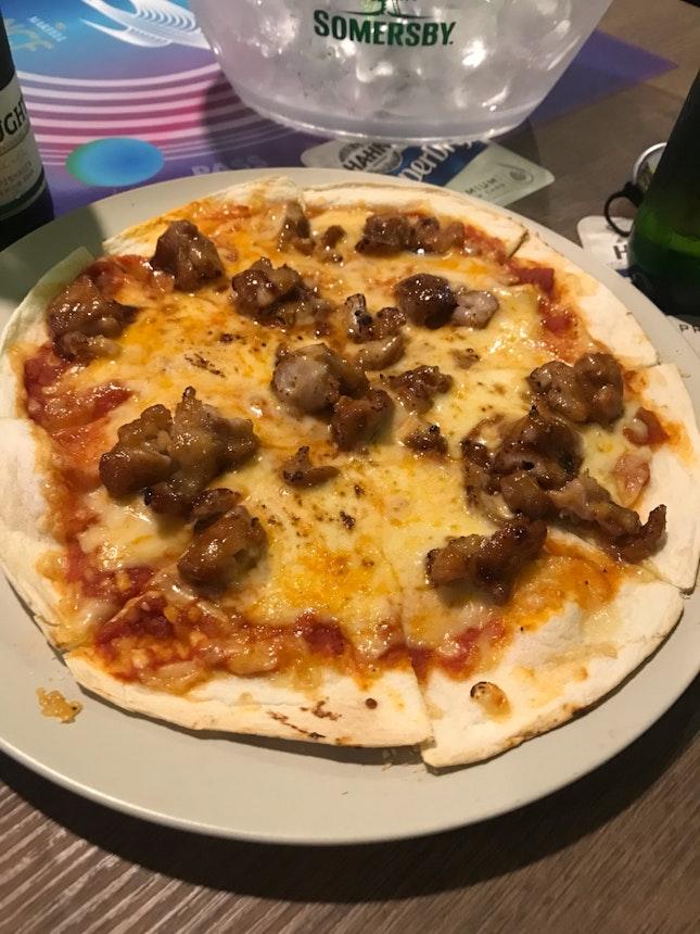 Teriyaki Chicken Pizza $13++