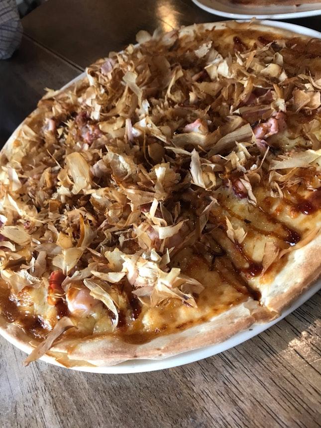 Takoyaki Pizza $26+