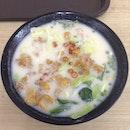 Fried Fish Mee Hoon Soup