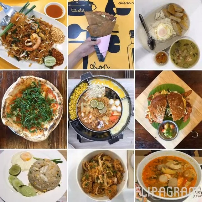 Quick flashback on some of the delights that we've gobbled during our Bkk trip.