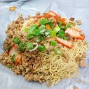 Revisited my favorite Sarawak Kolo Mee stall at Haig Road Hawker Centre.