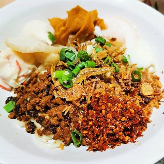 Opened just 4 days ago, KL Damansara Chilli Ban Mee is now at Simpang Bedok!