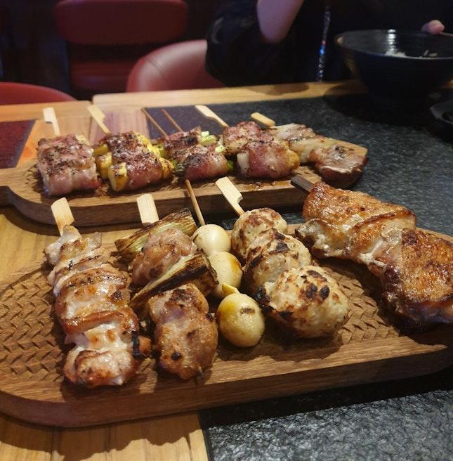Yakitori Platter
