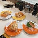 Various Mentaiko Sushi