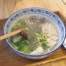 DIY Pork Broth Noodle Soup ($6.30)