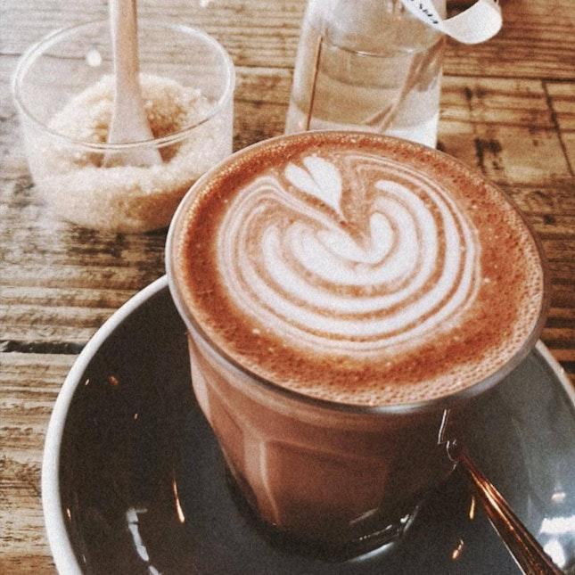 Hot Chocolate ($6)
