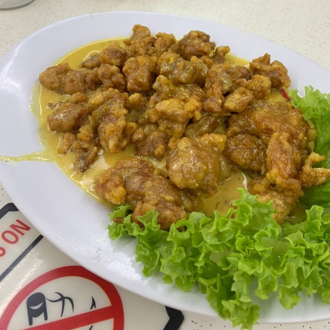Salted Egg Chicken (M) ($12)