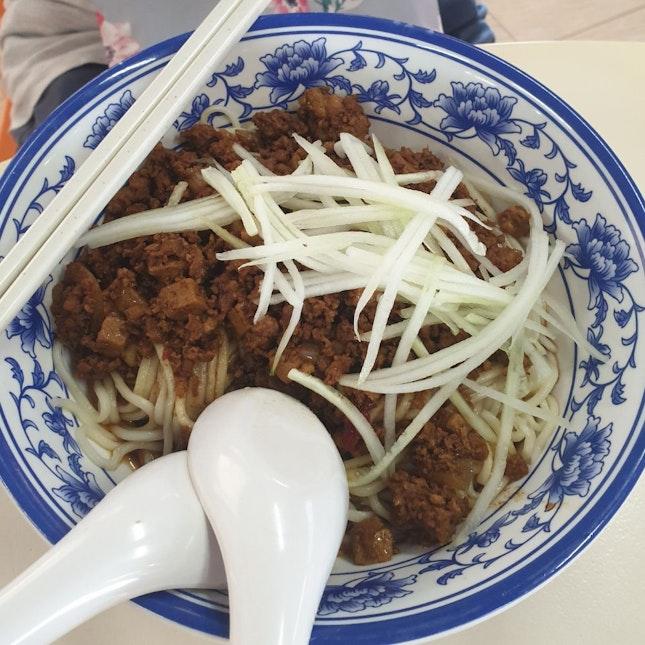 Minced Meat La Mian ($5)