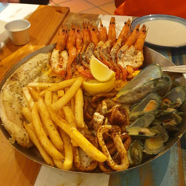 Seafood Platter For 2 ($49.90 IIRC)