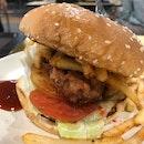 Hai Cheong Gai Burger ($5)