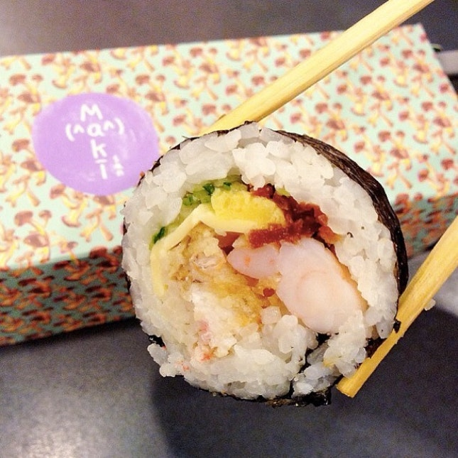 For Customizable Sushi Rolls