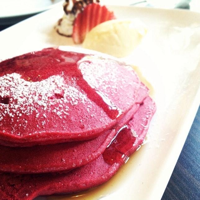 For Red Velvet Pancakes