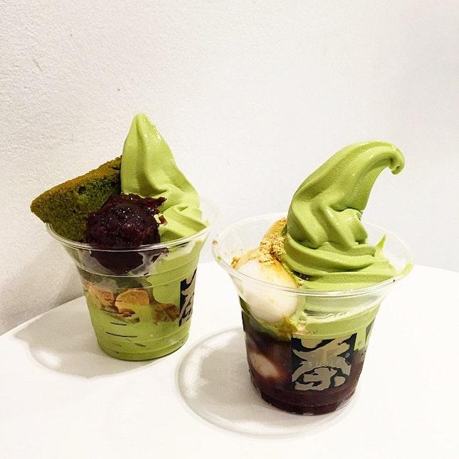 For Japanese Soft Serve Parfaits