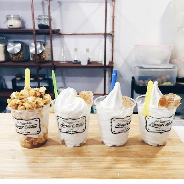 For Smooth Korean Soft Serve