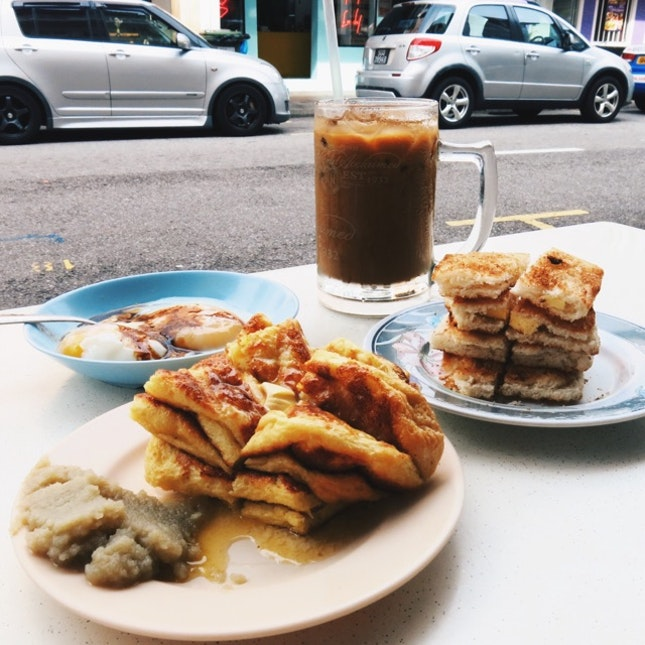 For Crispy Kaya Toast & Pillows of French Toast