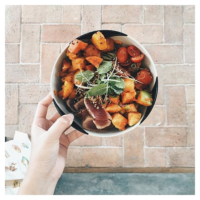 For Maximum Salad Enjoyment
