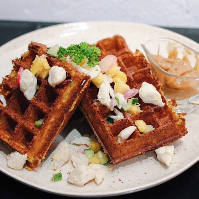 For Creative Savoury Waffles