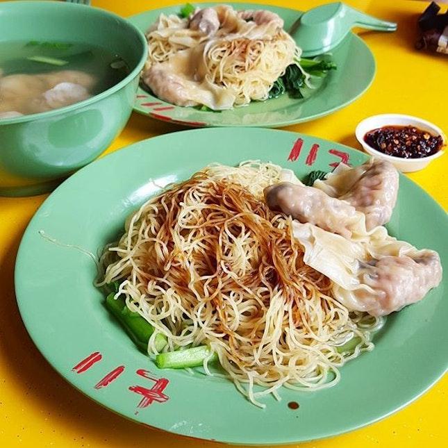 For Hong Kong Style Wanton Noodles