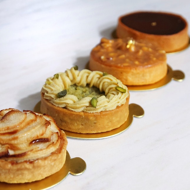 For Divine Tarts by Asia's Best Pastry Chef
