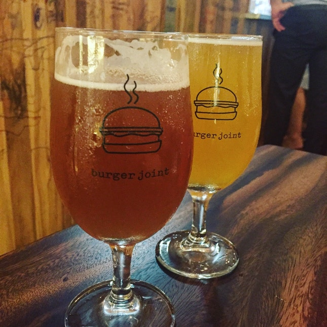 For Hole-in-the-Wall Beer and Burgers in the CBD