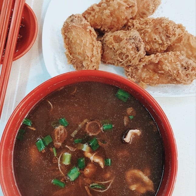 For Herbal Chicken Soup and Har Cheong Gai