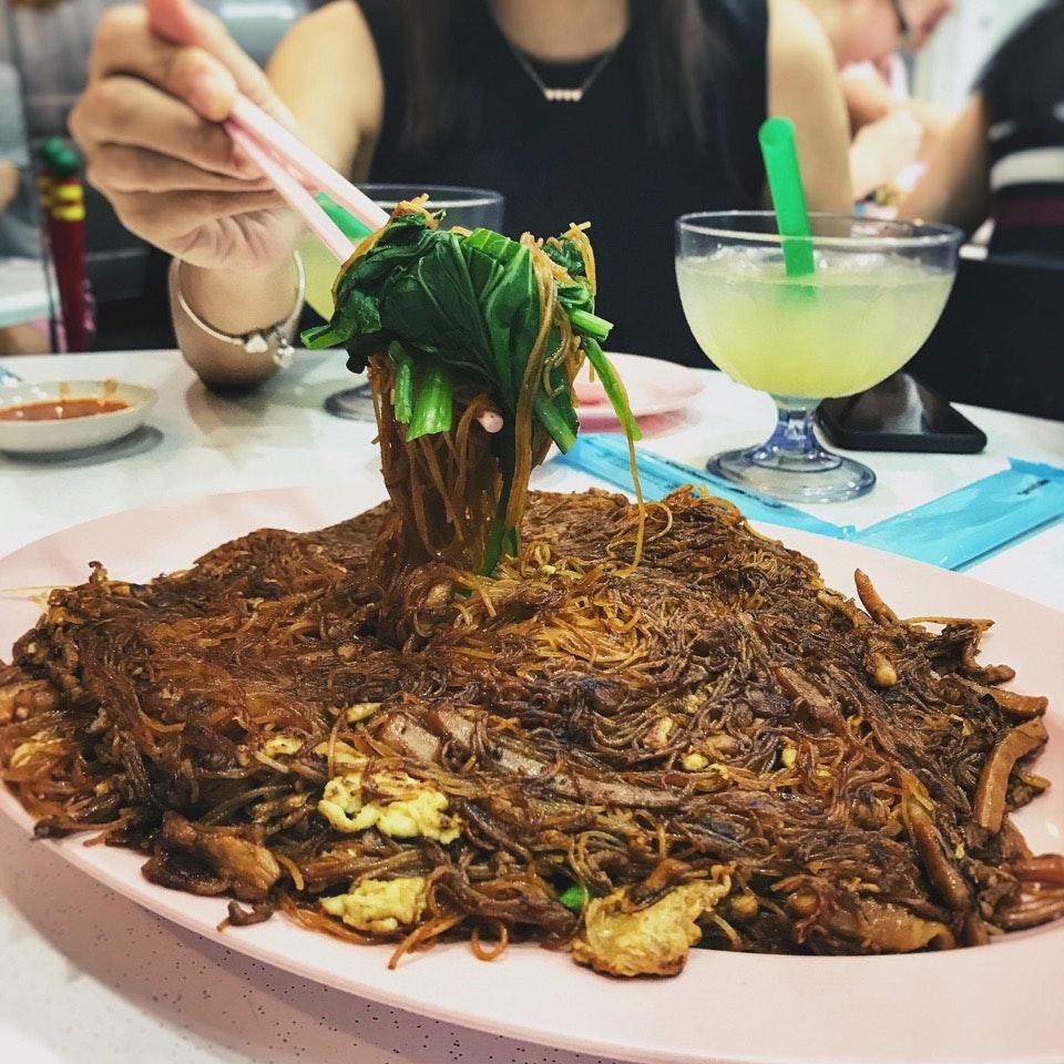 For JB Ah Meng's Famous Bee Hoon