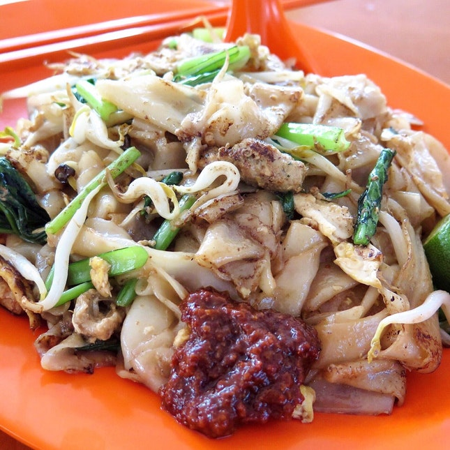 For Vegetarian Hawker Fare