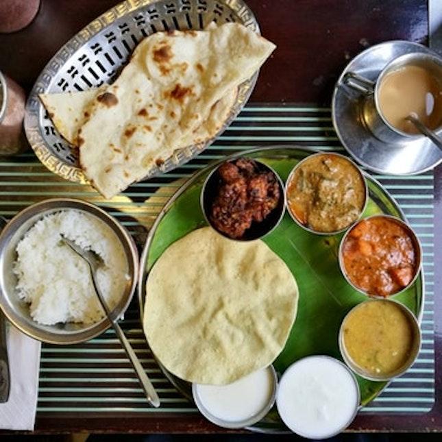 For Tasty Vegetarian Thali Sets
