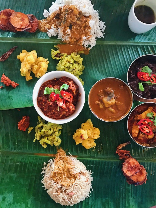 For Banana Leaf Rice With Beer