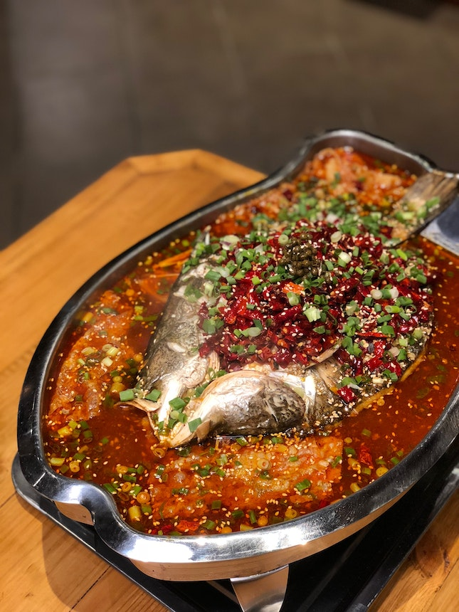 For Tasty Sichuan-Style Grilled Fish