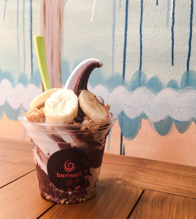 For Acai and Coconut Soft Serve