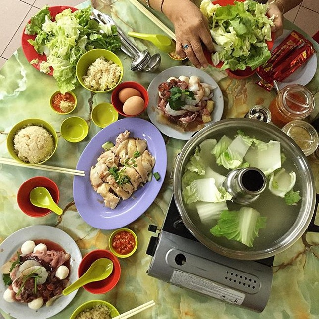 For Steamboat and Chicken Rice