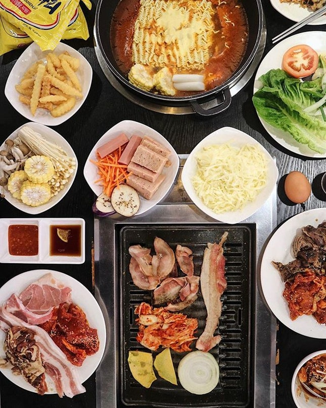 For Korean BBQ and Army Stew Buffet