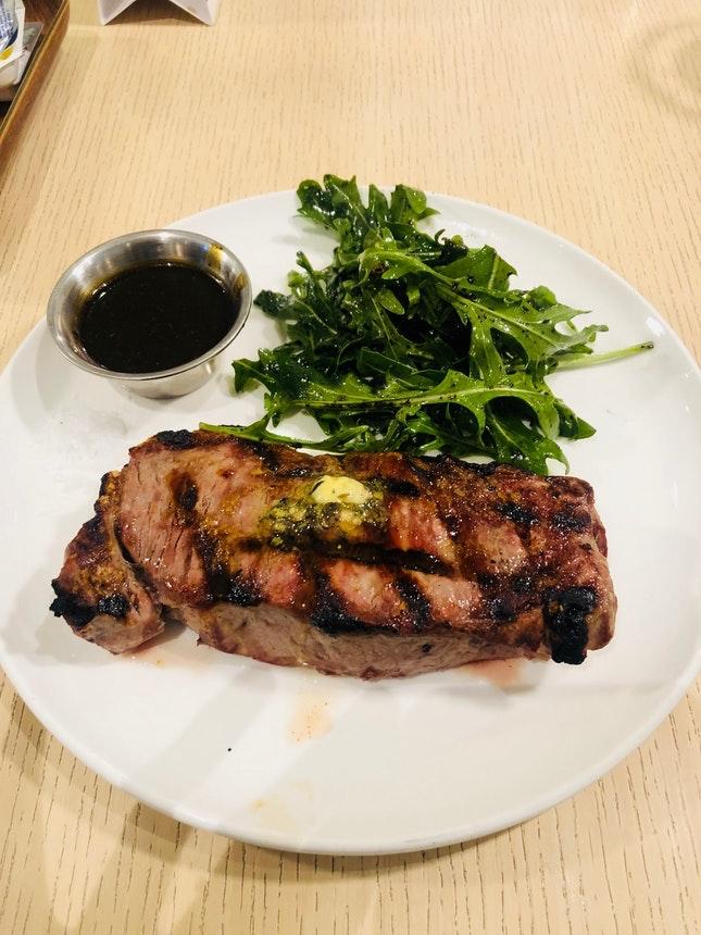 For Australian Tajima Wagyu Striploin Steak