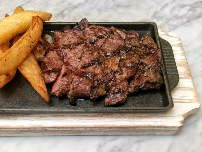 For Prix Fixe Steak Lunch in the CBD