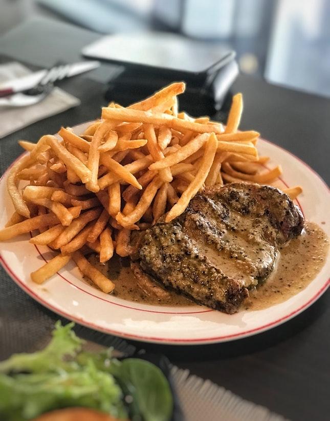 For 1-for-1 Steak Dinners, Alfresco