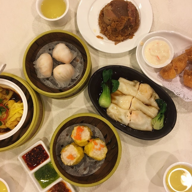 For Winning Dim Sum on Weekends