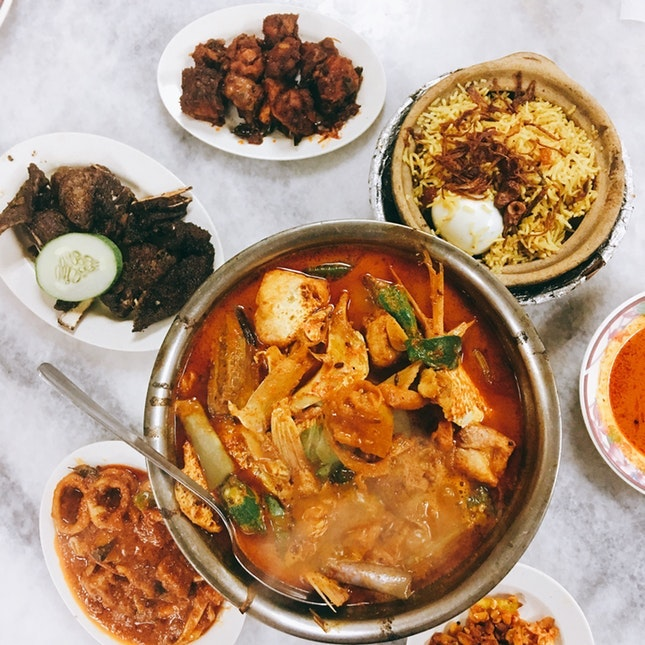For Stellar Claypot Fish Head Curry and More