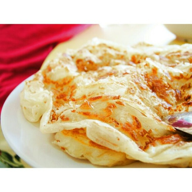 For Crisp Roti Prata and Tasty Vegetarian Curry in the North