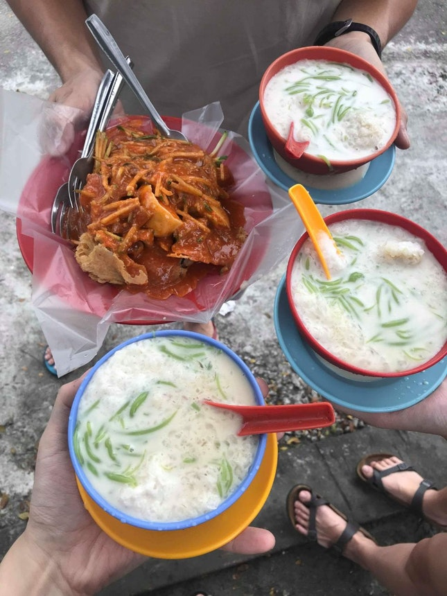For Subang's Famed Rojak and Cendol