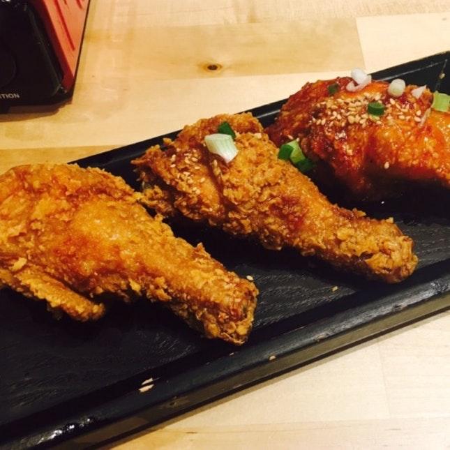 For Best Korean Fried Chicken
