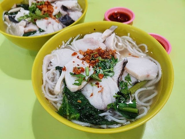 For Best Sliced Fish Soup With Rice in Amoy Street