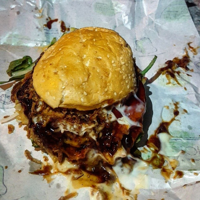 For Messy and Late-Night Streetside Burgers