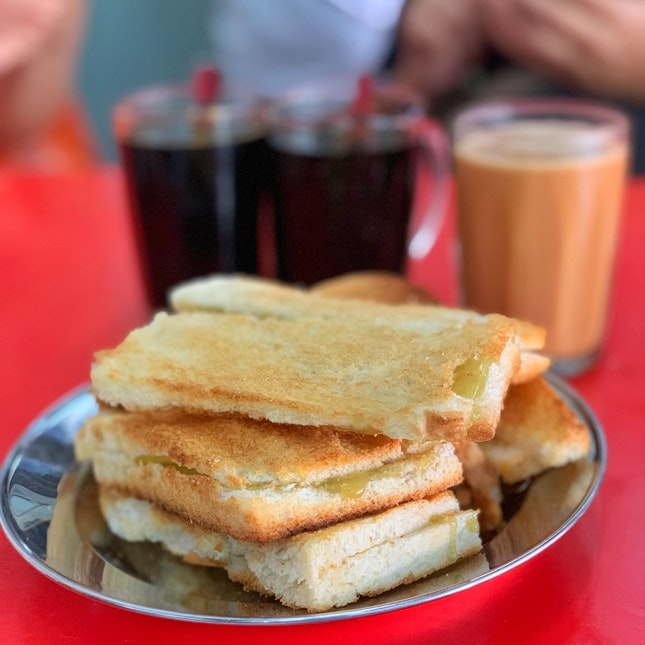 For Hainan Tea, Kaya Butter Toast and More