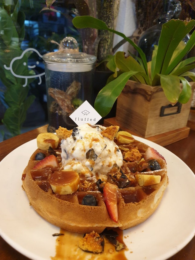 For Fluffy Waffles and Housemade Ice Cream
