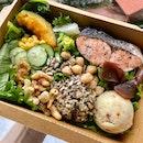 For 1-for-1 Salad + Dessert (save ~$10)