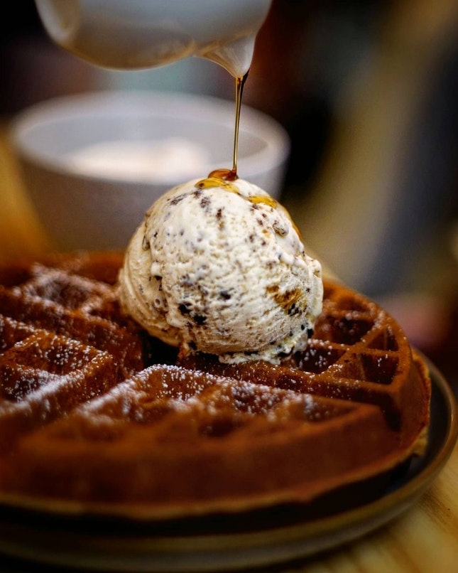 For 1-for-1 Waffle (save ~$4)