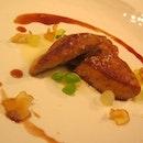 St Pierre's Chef Emmanuel's Pan Fried Foie Gras